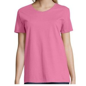 NWT Hanes Relaxed Fit Sz 3X V-Neck T-Shirt